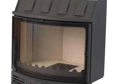 Чешка горивна камера,с обло стъкло,8-13KW zeus-105