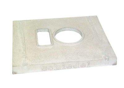 Покриваща плоча с вентилация