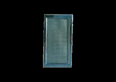 Решетка за камина с дупки – инокс18×33